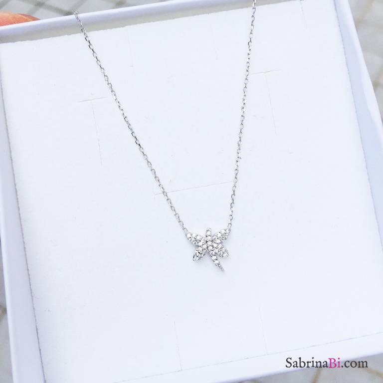 Collana argento 925 Libellula