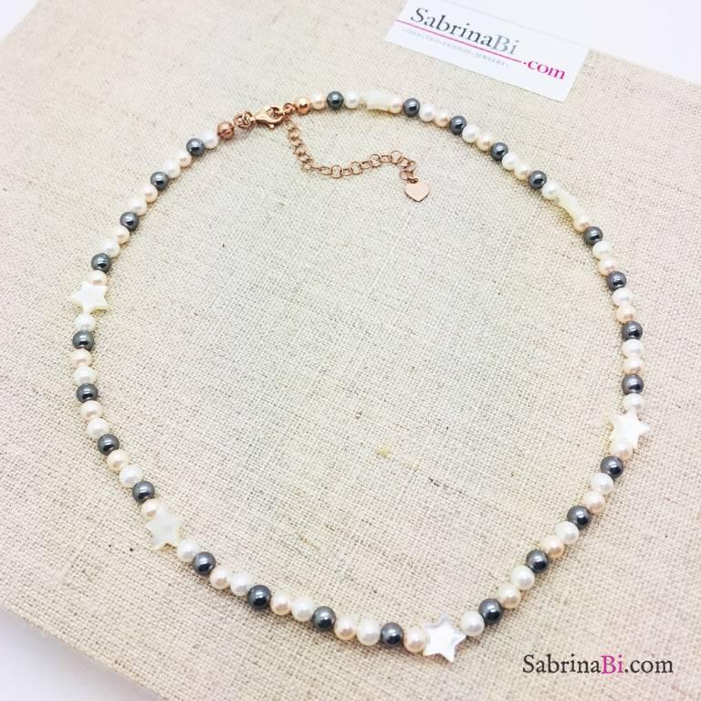Collana perle Odine