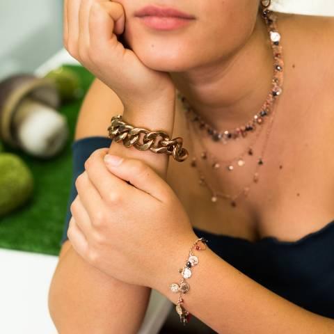 Bracciale Chain catena oro rosa