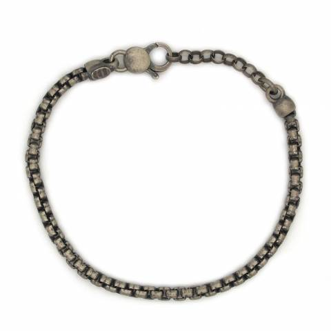 mens products diem carpe silver man sterling bracelet