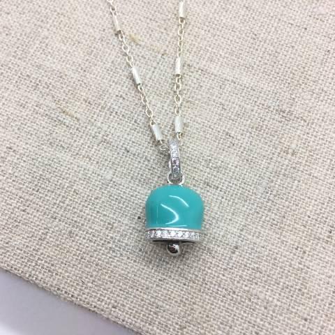 Collana media lunghezza argento 925 campanella Capri Tiffany
